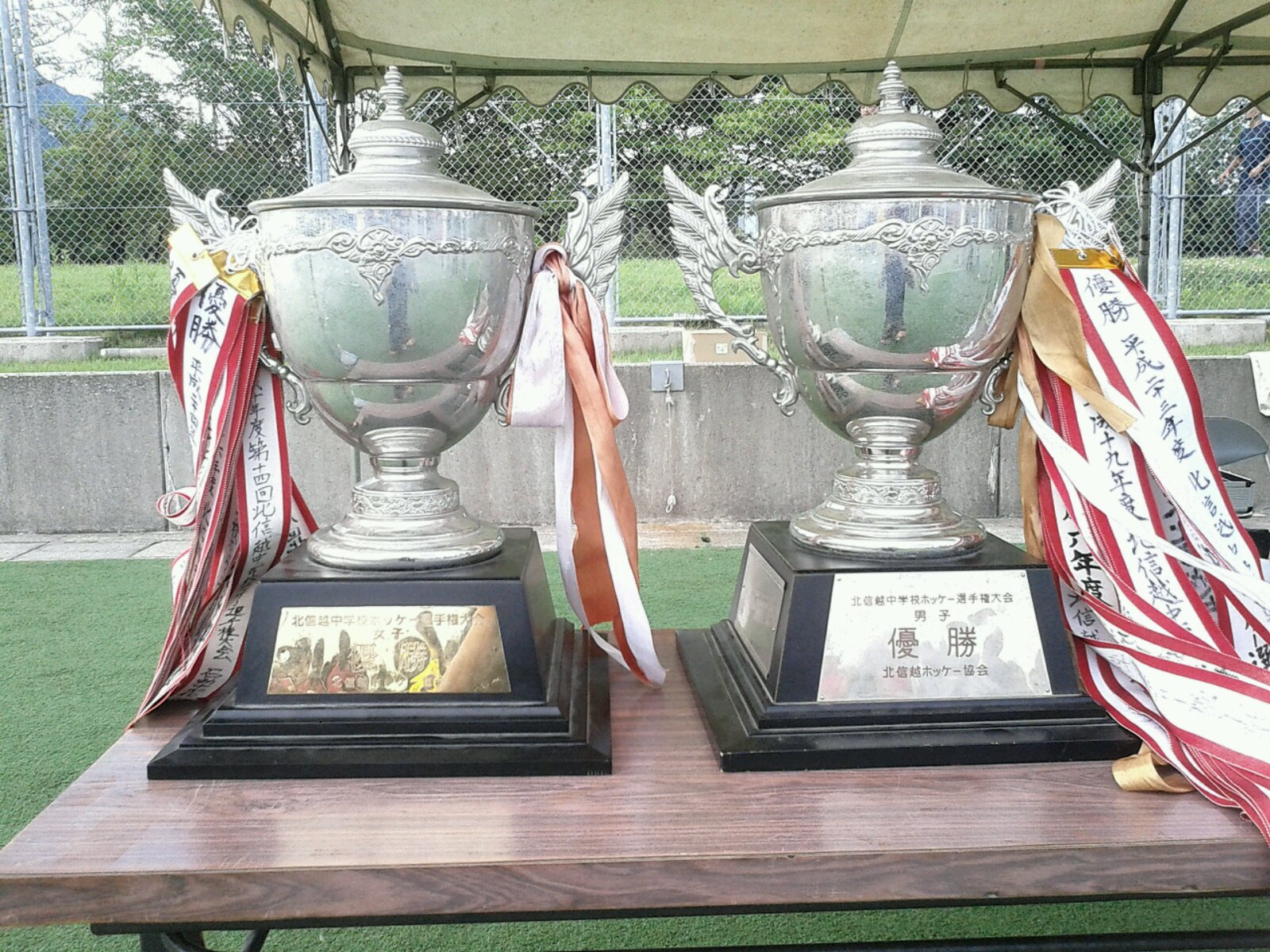 北信越中学校選手権大会 開会式
