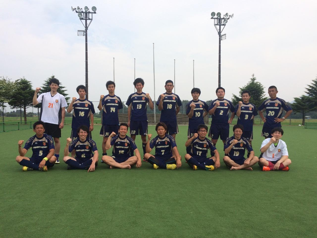 社会人 東日本リーグ 新潟CREAホームで2勝目