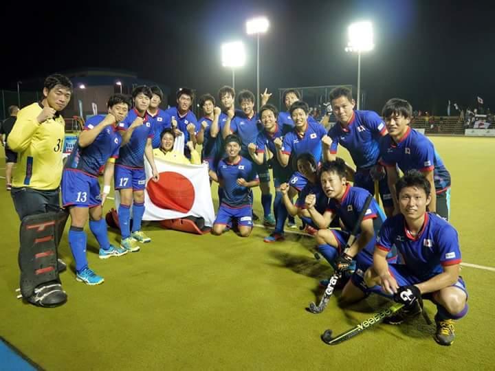 男子日本代表に亀山選手